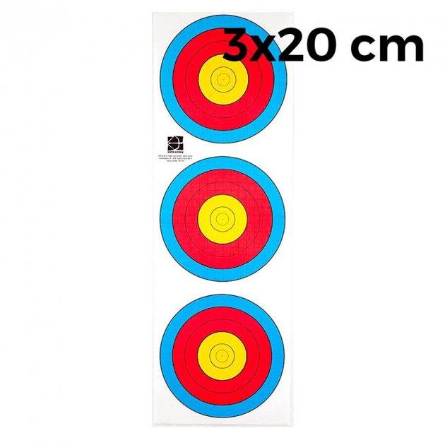 Мішень JVD Fita 3х20 (10 штук) - зображення 1