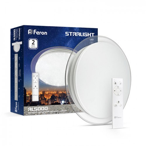 Світлодіодний світильник Feron AL5000 STARLIGHT 36W - зображення 1