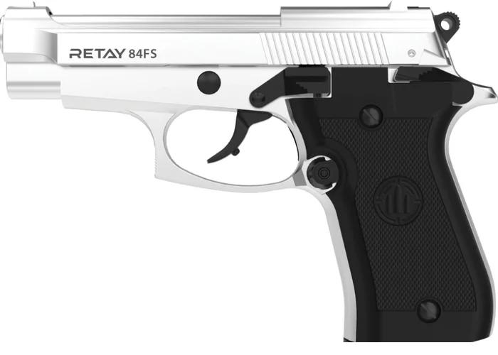 Пистолет стартовый Retay 84FS chrome - изображение 1