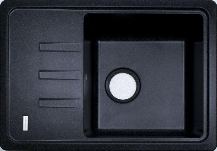 Мойка керамическая Adamant SLIM чорний-03 - изображение 1