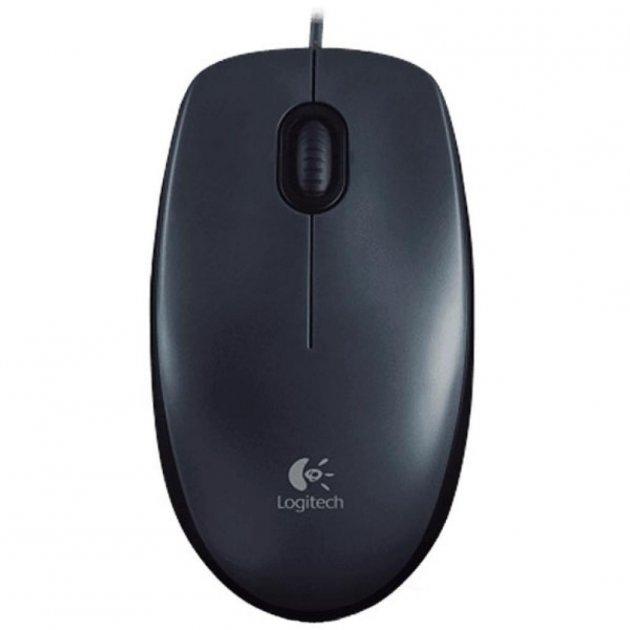 Мишка Logitech M100 Gray (910-005003) - зображення 1