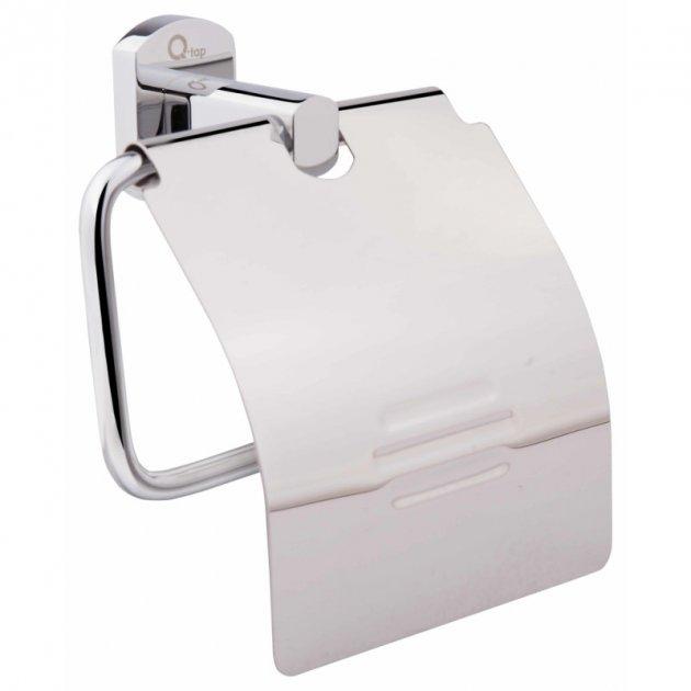 Тримач для туалетного паперу Q-tap Liberty 1151 CRM - зображення 1