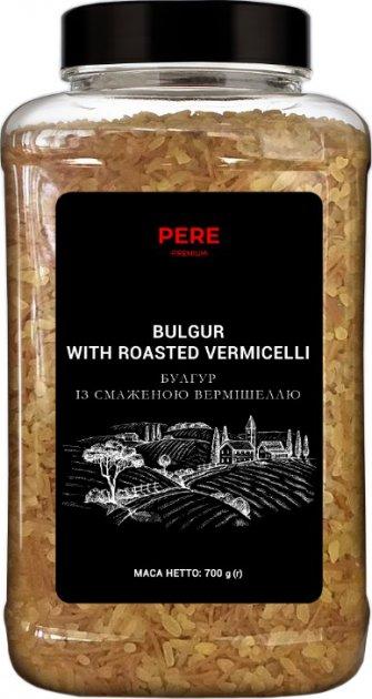 Крупа Pere Булгур с жареной вермишелью 700 г (4820191592889) - изображение 1