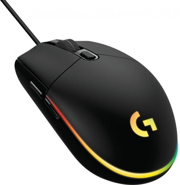 Мышь Logitech G102 Lightsync USB Black (910-005823) - изображение 1