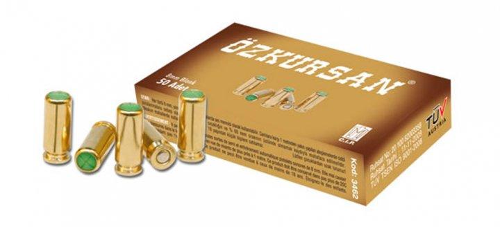 Патрон холостой пистолетный 8 мм Ozkursan 50 штук - изображение 1