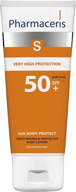 Гидролипидный защитный бальзам для тела Pharmaceris S Sun Body Protect SPF50+ 150 мл (5900717149519) - изображение 1