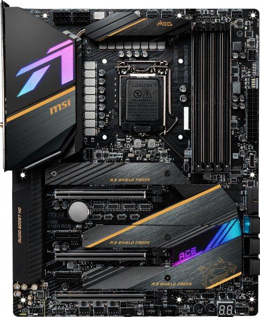 Материнська плата MSI MEG Z490 Ace (s1200, Intel Z490, PCI-Ex16) - зображення 1