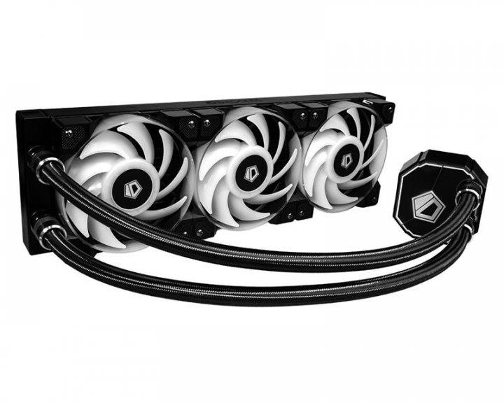 Система водяного охолодження ID-Cooling Dashflow 360, Intel: LGA1200/2066/2011-3/2011/1366/1151/1150/1155/1156, AMD: AM4/FM2+/FM2/FM1/AM3+/AM3/AM2+/AM2, 396х120х27 мм - зображення 1