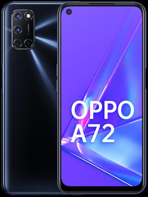Мобильный телефон OPPO A72 128GB Black - изображение 1