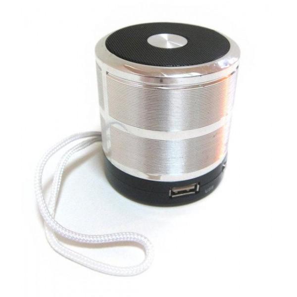 Портативна колонка bluetooth MP3 плеєр SPS 887 Silver - зображення 1
