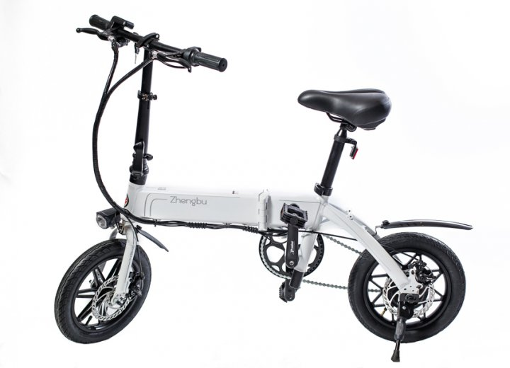 Електровелосипед Zhengbu D6 White - зображення 1