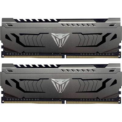 Модуль памяти для компьютера DDR4 32GB (2x16GB) 3200 MHz Viper Steel Patriot (PVS432G320C6K) - изображение 1