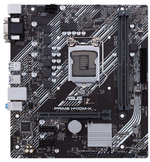 Материнська плата Asus Prime H410M-K (s1200, Intel H410, PCI-Ex16) - зображення 1