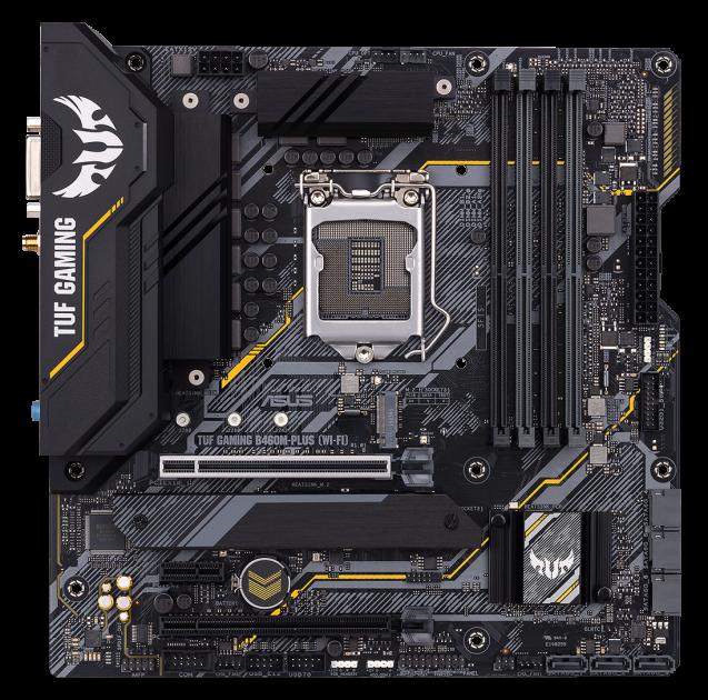 Материнська плата Asus TUF Gaming B460M-Plus (Wi-Fi) (s1200, Intel B460, PCI-Ex16) - зображення 1