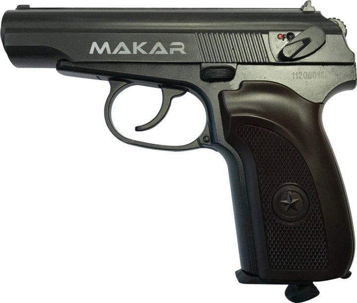 Пневматичний пістолет ZBROIA Makar Blowback - зображення 1