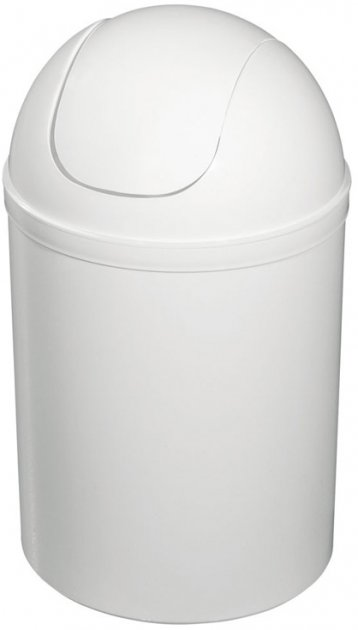Відро для сміття BISK 90302 біле - зображення 1