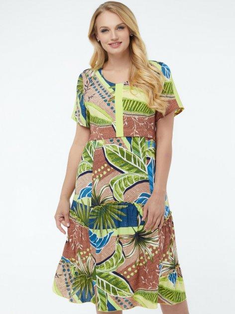 Платье All Posa Бруна 100165 56 Салатовое - изображение 1