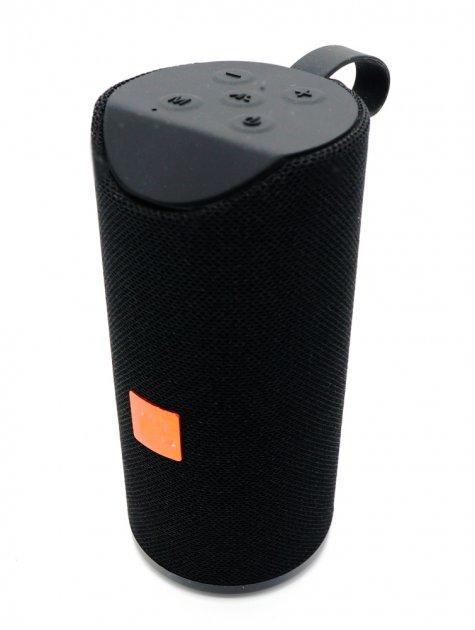 Портативна Bluetooth стерео колонка вологостійка SPS TG-113 Чорна (113 Black) - зображення 1