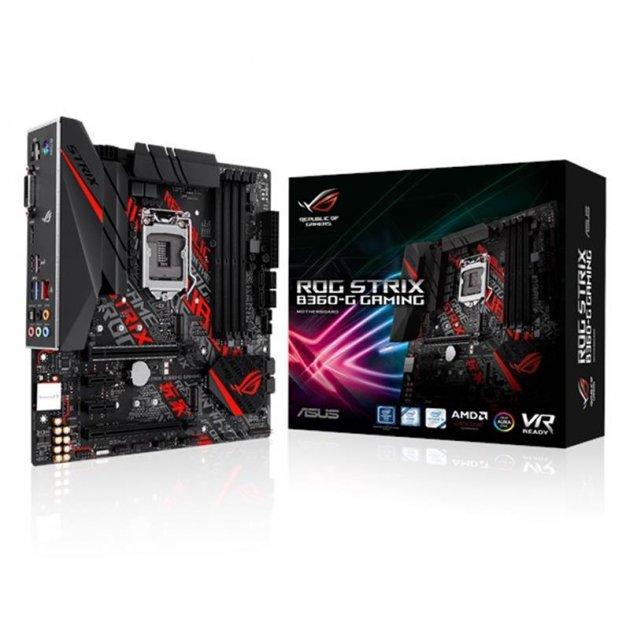 Материнська плата Asus ROG Strix B460-G Gaming Socket 1200 - зображення 1