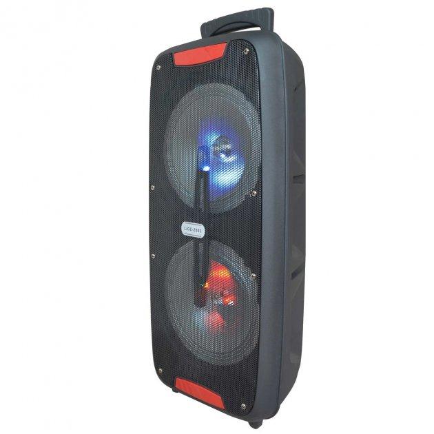 Акустична система Ailiang Lige-2803 акумуляторна стерео по Bluetooth 60 Вт з поддержкойAUX-вхід, USB, Bluetooth, microUSB Чорна (11191) - зображення 1