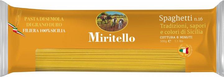 Макаронные изделия Miritello Spaghetti 500 г (8051122530182) - изображение 1