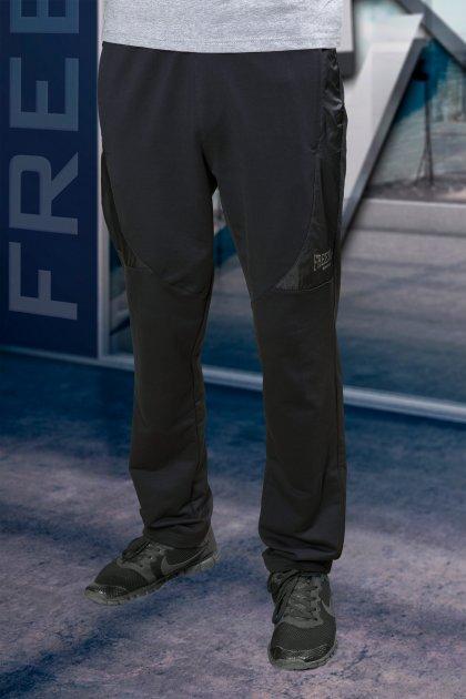 Спортивні штани чоловічі Freever GF 22777 чорні M - зображення 1