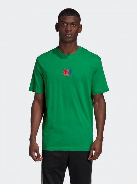 Футболка Adidas GE0835 S Green (4061612977254) - зображення 1