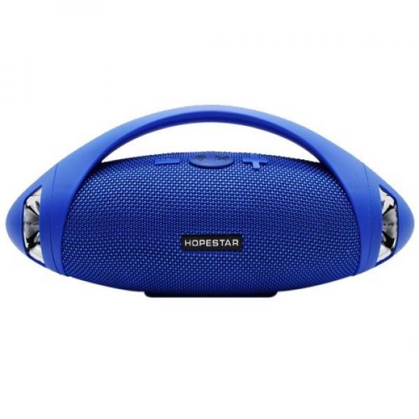 Портативна Bluetooth колонка Hopestar H37 Blue - зображення 1