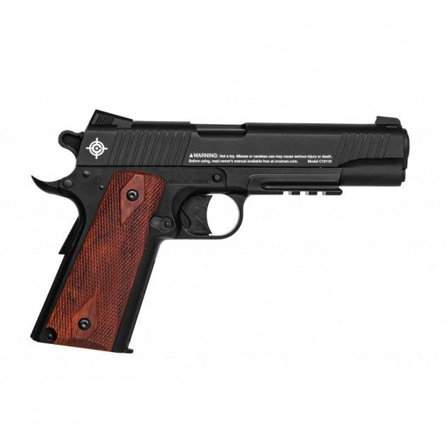 Пневматический пистолет Crosman C1911B - изображение 1
