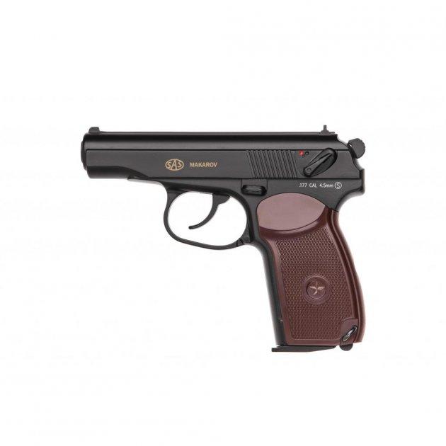 Пневматичний пістолет SAS Makarov (KM-44DHN/2370.14.30) - зображення 1