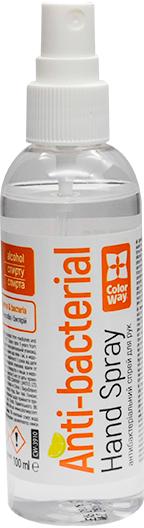 Спиртовий антисептик ColorWay для дезінфекції рук 100 мл (CW-3910) (4823108603524) - зображення 1