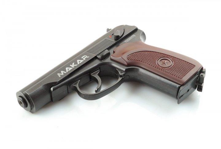 Пневматичний пістолет Makar ZBROIA Blowback - зображення 1