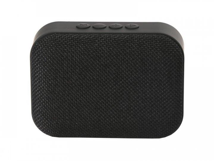 Портативна акустика Omega Bluetooth OG58DG Fabric Black (OG58BB) - зображення 1