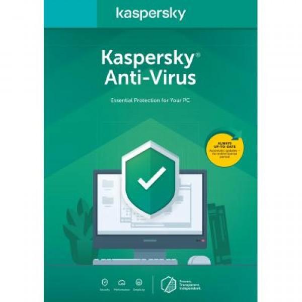 Антивірус Kaspersky Anti-Virus 2020 1 ПК на 1 рік Renewal Card (5056244903213) - зображення 1