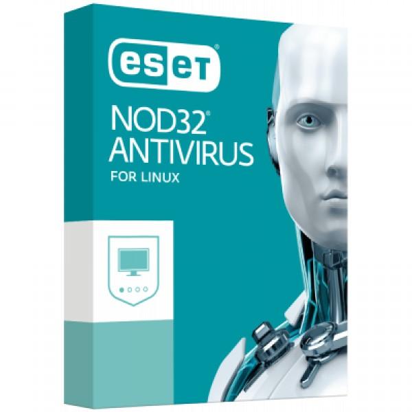 Антивірус ESET NOD32 Antivirus для Linux Desktop для 13 ПК, ліцензія на 2 y (38_13_2) - зображення 1