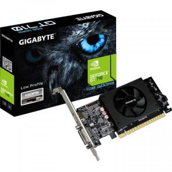 Видеокарта GeForce GT710 1024Mb GIGABYTE (GV-N710D5-1GL) - изображение 1