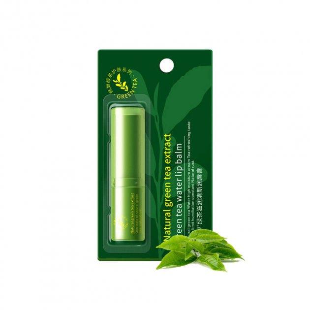 Увлажняющий бальзам для губ BIOAQUA Зеленый чай 4г - изображение 1