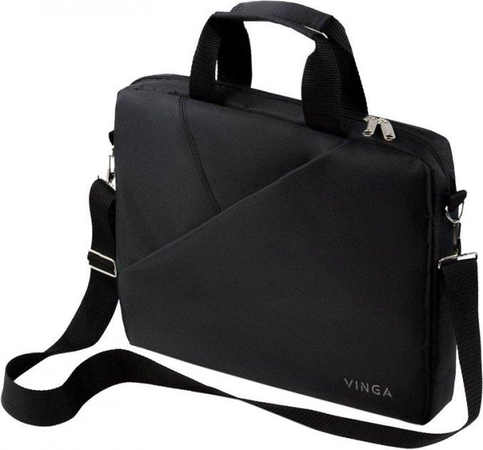 """Сумка для ноутбука Vinga 14"""" Black (NB141BK) - изображение 1"""