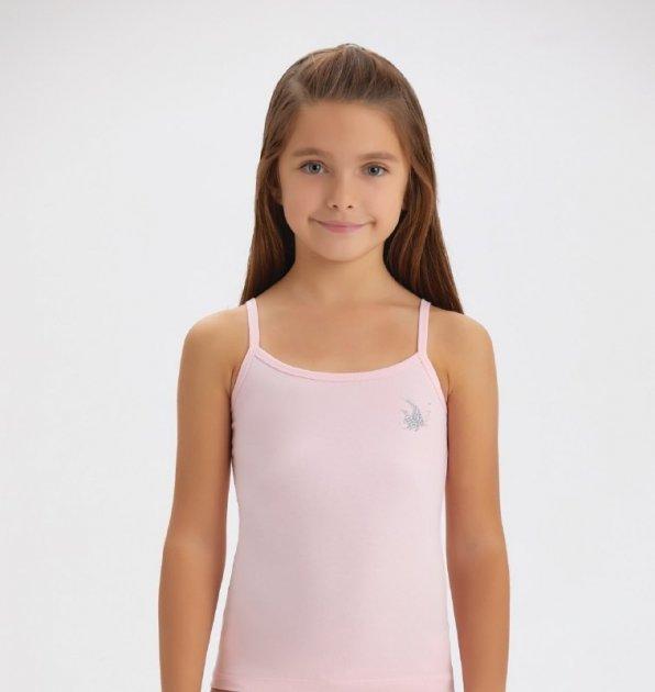 Майка для дівчинки Baykar 4108 рожева 98-104 см - зображення 1