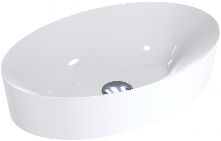 Раковина MIRAGGIO EVA 500С белая глянцевая - изображение 1