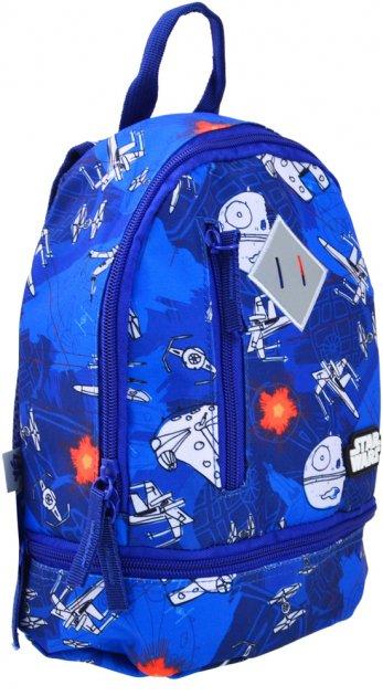 Рюкзак детский Yes K-21 Star Wars 27x21.5x11.5 для мальчика (555316) - изображение 1