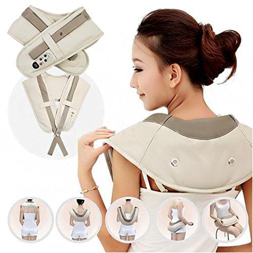 Ударный Вибромассажер для спины плеч и шеи Cervical Massage Shawls - изображение 1