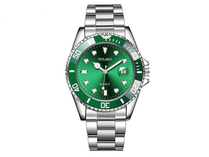 Часы Yolako Кварцевые мужские Зеленый (1007-062-02) - изображение 1