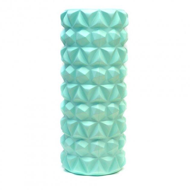 Валик массажный FitEnergy для спины и йоги 33x14 см Мятный (0008) - изображение 1