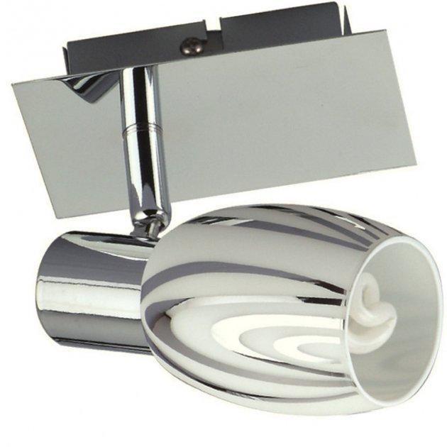 Светильник поворотный спот настенно-потолочный Horoz Electric MANAVGAT-1 E14 хром 035-003-0001 - изображение 1