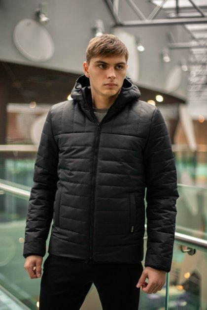 """Демісезонна Куртка Intruder """"Temp"""" чорна M - зображення 1"""
