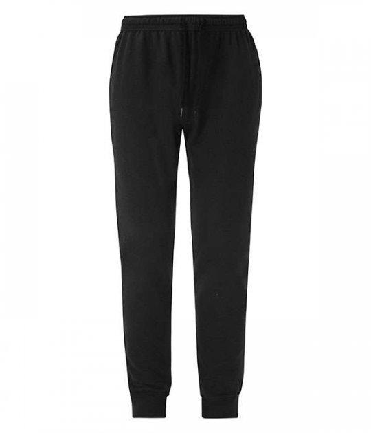 Спортивные брюки Fruit of the Loom Lightweight cuffed jog pants M Черный (064046036M) - изображение 1