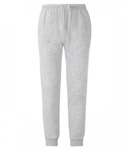 Спортивные брюки Fruit of the Loom Lightweight cuffed jog pants S Серый (064046094S) - изображение 1