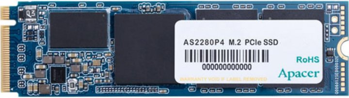 Apacer AS2280P4 256GB NVMe M.2 2280 PCIe 3.0 x4 3D NAND TLC (AP256GAS2280P4-1) - зображення 1