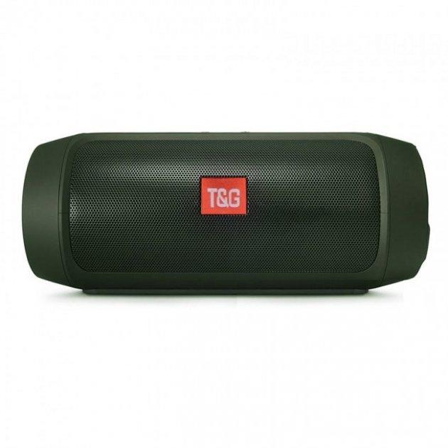 Акустическая портативная система Bluetooth колонка T&G Charge Mini, c функцией громкая связь и FM радио. Черная - изображение 1